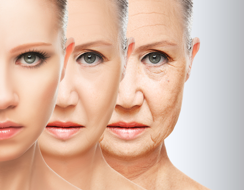 The natural aging process can cause collagen levels to deplete over time.