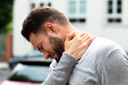 Having a pinched nerve in your neck is annoyingly painful.